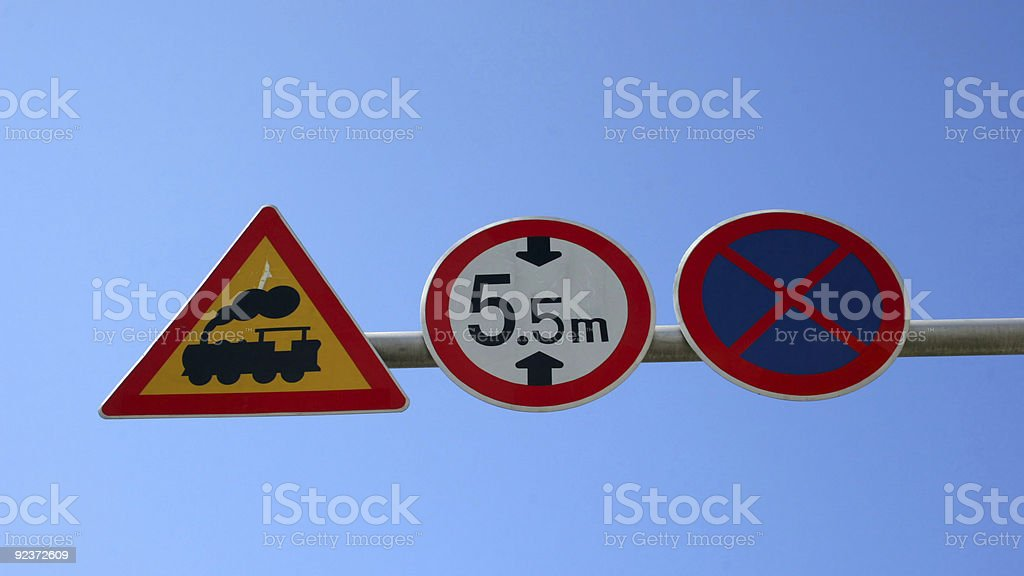 Traffic sign Lizenzfreies stock-foto