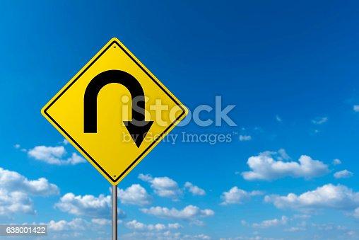 Traffic sign - U Turn