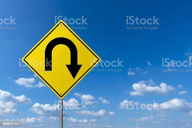 Photo of Traffic sign - U Turn