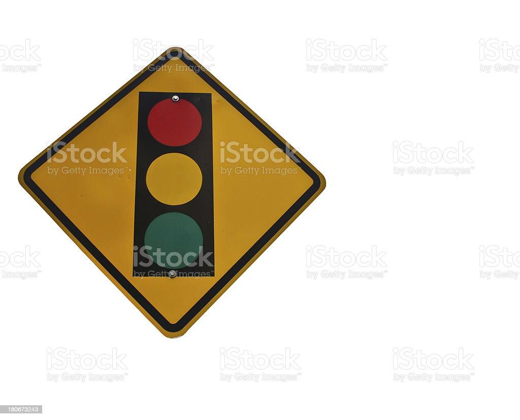 Traffic signals royalty-free stock photo