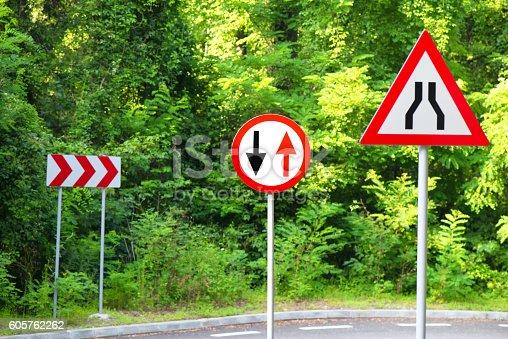 istock Traffic signs 605762262