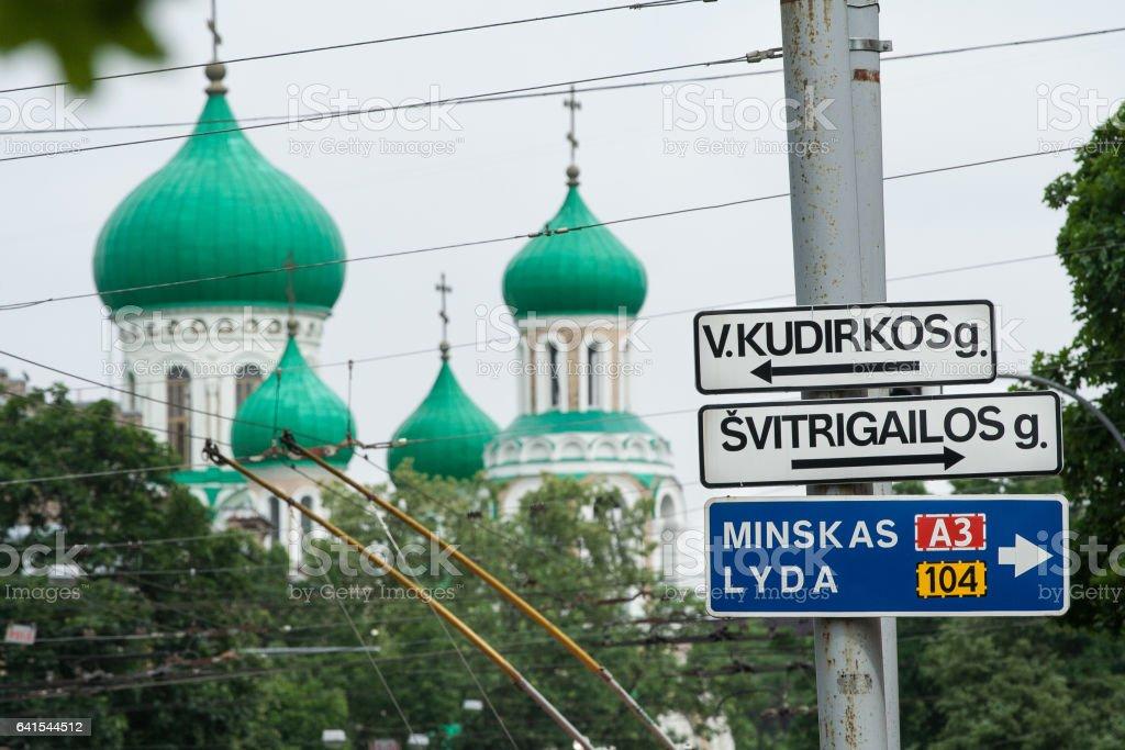 Traffic signs foto