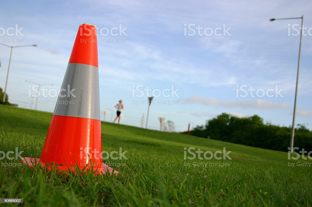 traffic stopper stock photo