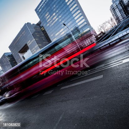 1154996700istockphoto Traffic trough Business District 181083820