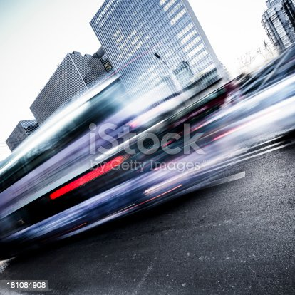 1154996700istockphoto Traffic trough Business District 181084908