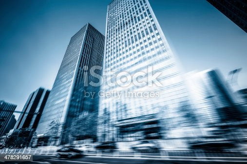 1154996700istockphoto Traffic trough Business District 478291657