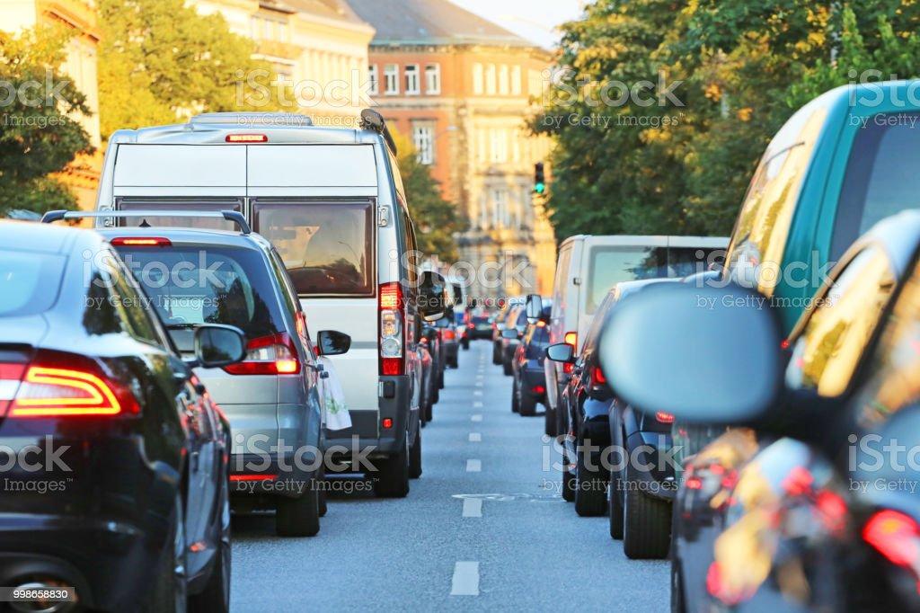 traffic_jam - 로열티 프리 0명 스톡 사진