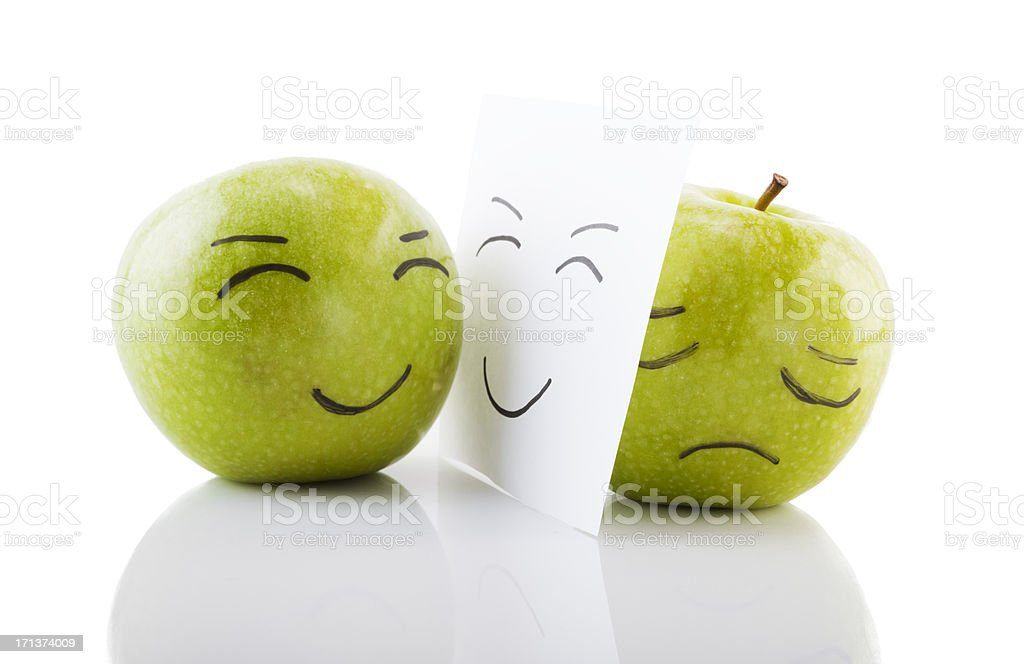 tragedy & comedy royalty-free stock photo
