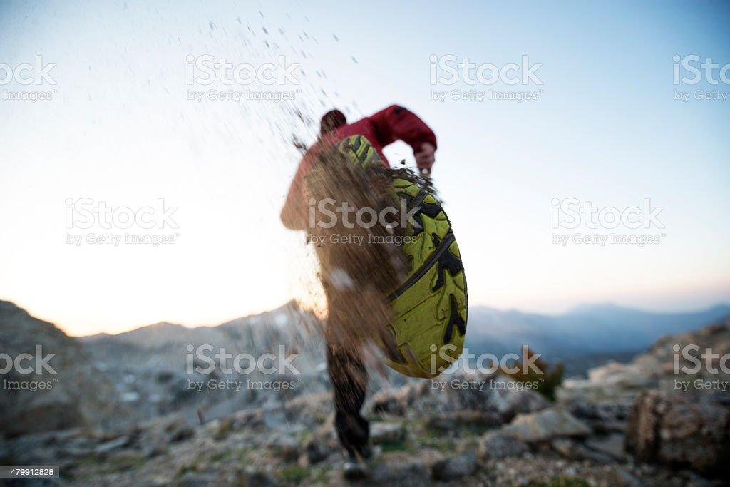 Trail Blazer stock photo