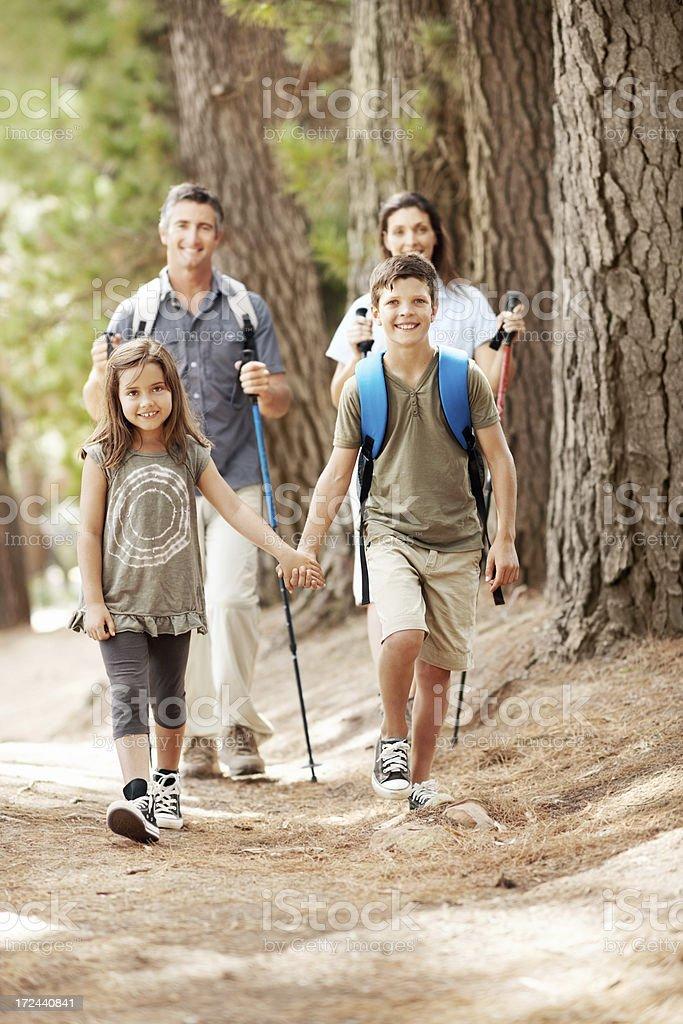 Trail blazers royalty-free stock photo