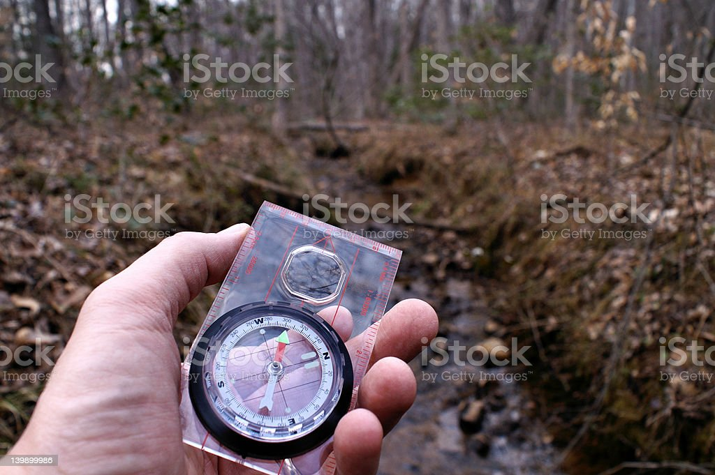 Trail Blazing stock photo