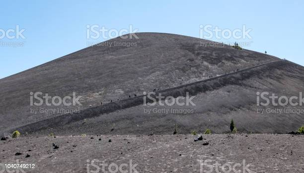 Photo of Trail Leading up Cinder Cone, Lassen Volcanic National Park, California