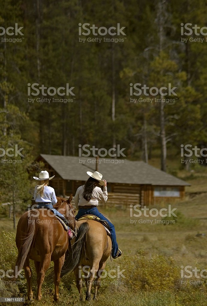 Trail Ride stock photo