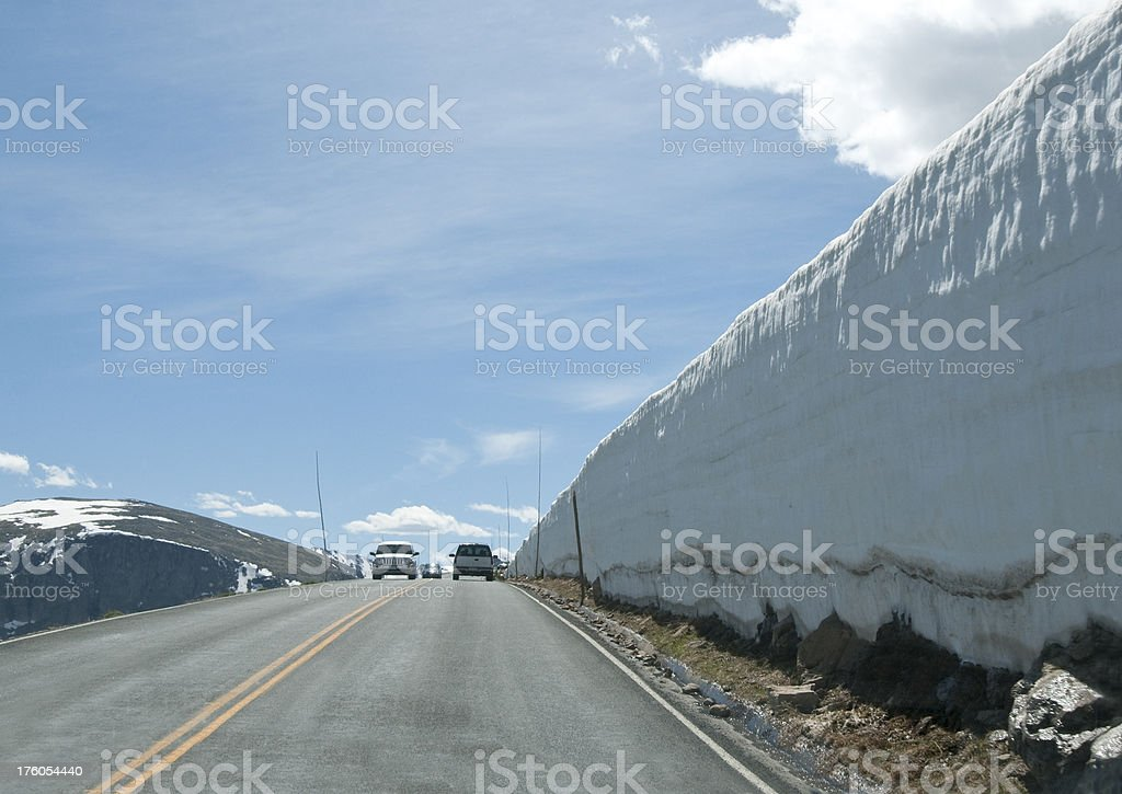 Trail Ridge Road stock photo