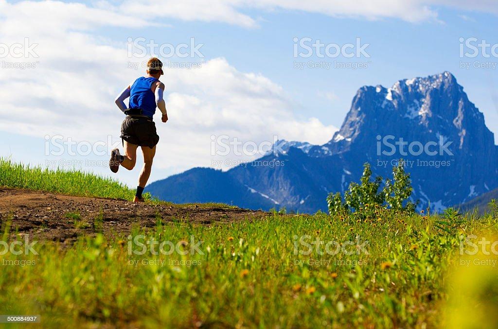 Trail Runner stock photo