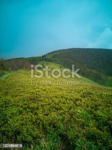 istock trail running in mountains 1324894819