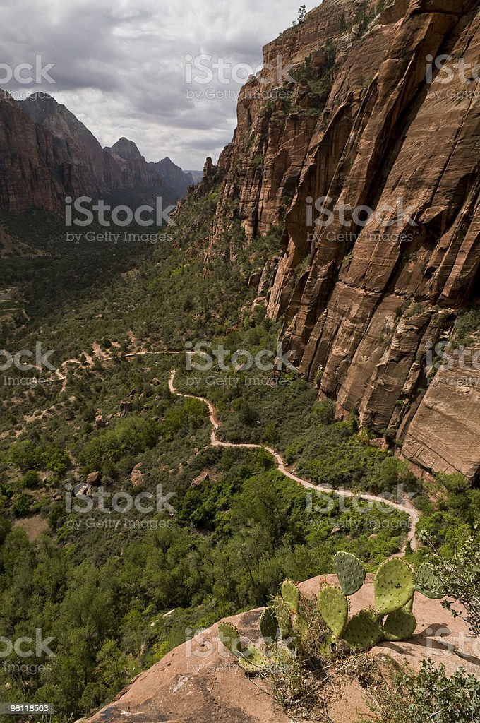 Trail to Angels Landing royalty-free stock photo