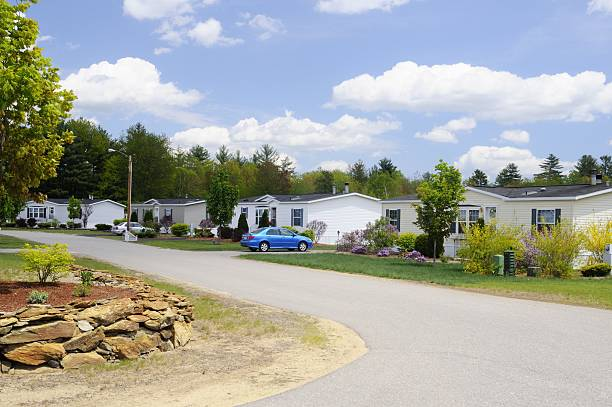 trailer park Trailer park trailer park stock pictures, royalty-free photos & images