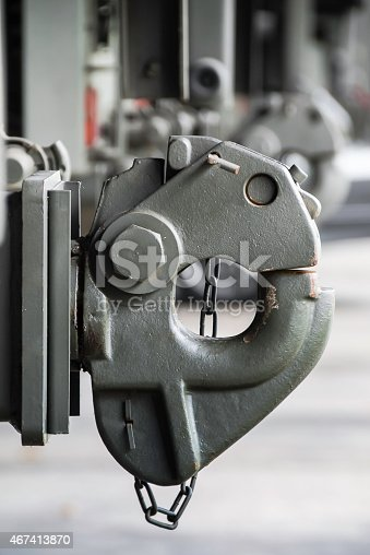 665295184 istock photo Trailer Rear tow hook for transportation. 467413870