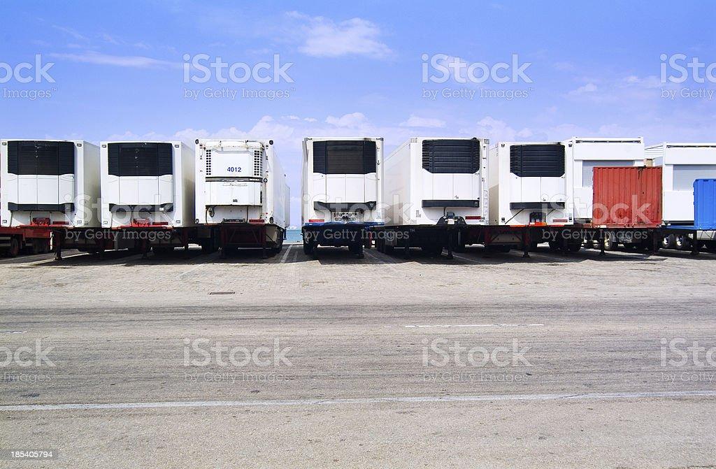 trailer - trade royalty-free stock photo