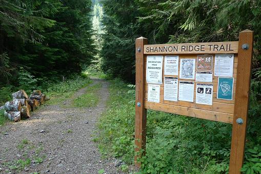 Trailhead Information Board