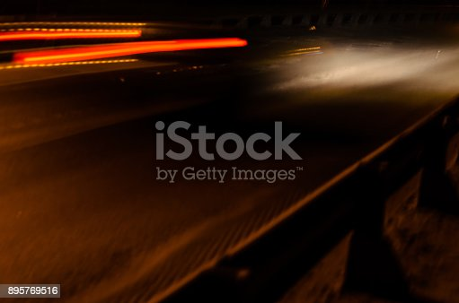 1023119734 istock photo Trails of the car lights 895769516