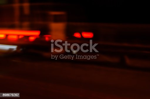 1023119734 istock photo Trails of the car lights 898676262