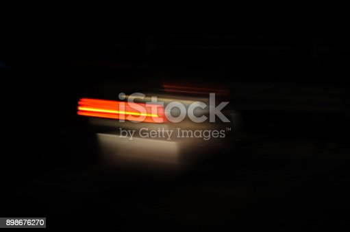 1023119734 istock photo Trails of the car lights 898676270