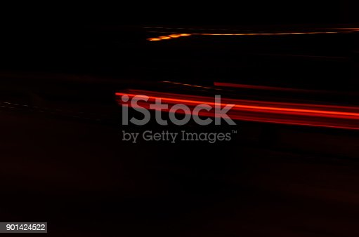 1023119734 istock photo Trails of the car lights 901424522