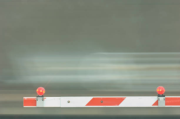 train abstract - railway signal stock photos and pictures