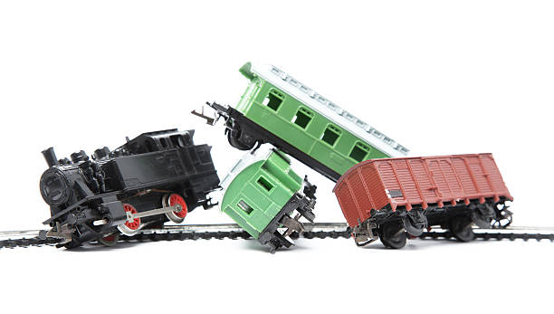 train accident - derail bildbanksfoton och bilder