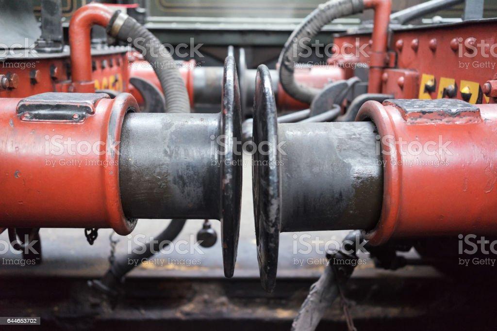 Train Buffers stock photo
