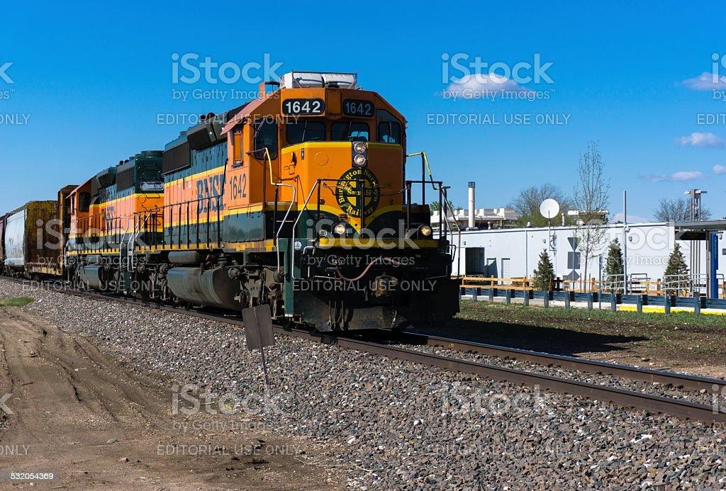 Bnsf Train Burlington Northern Santa Fe Stock Photo More Pictures