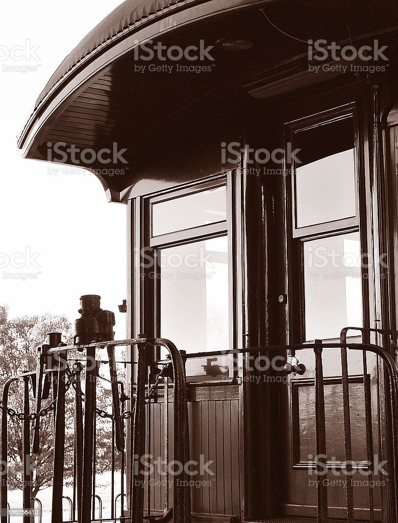 train car platform royalty-free stock photo