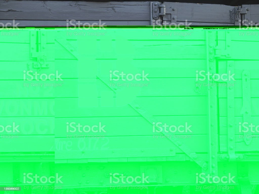 Train carriage royalty-free stock photo