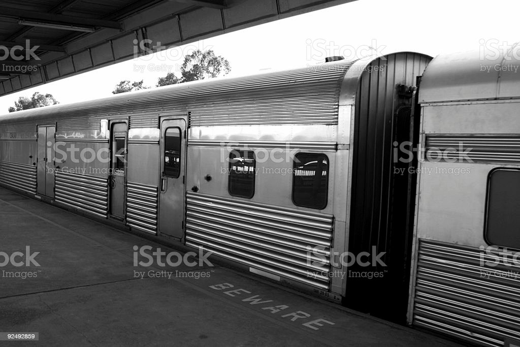 Train carriages royalty-free stock photo