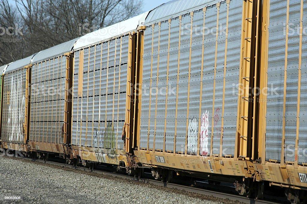 Train cars royalty-free stock photo