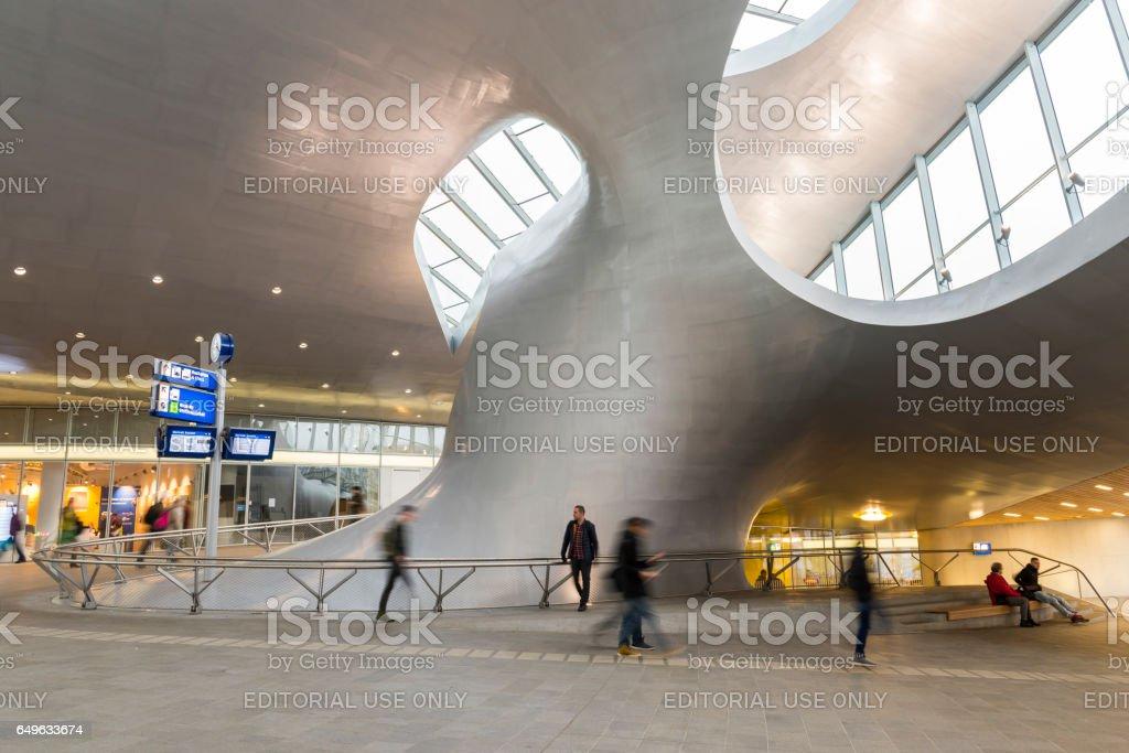 Train Central Station in Arnhem foto