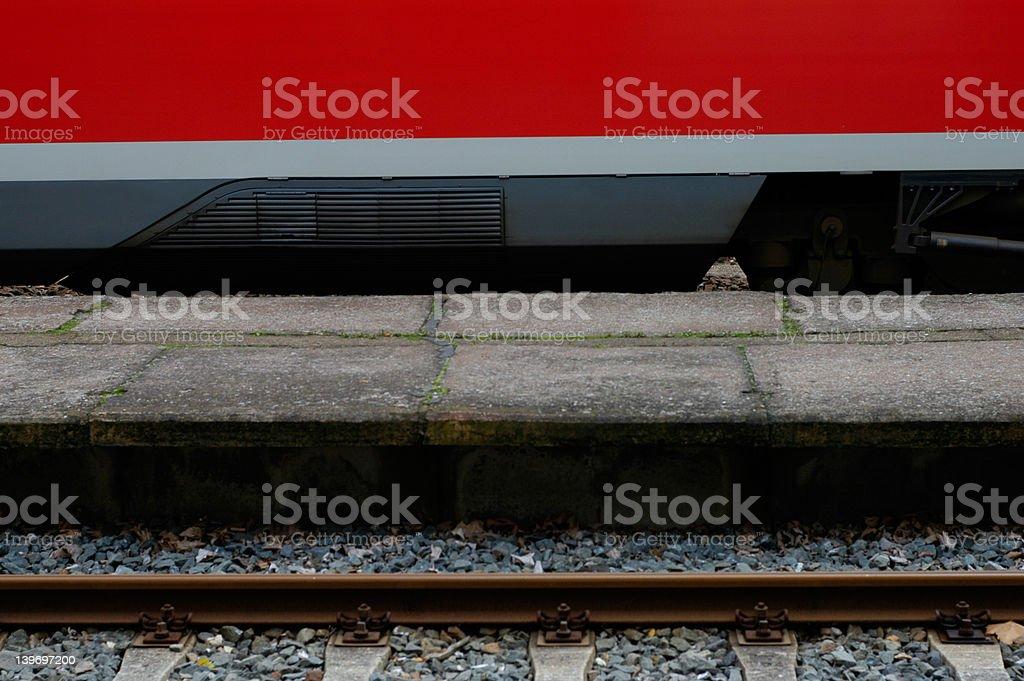 train close-up royalty-free stock photo