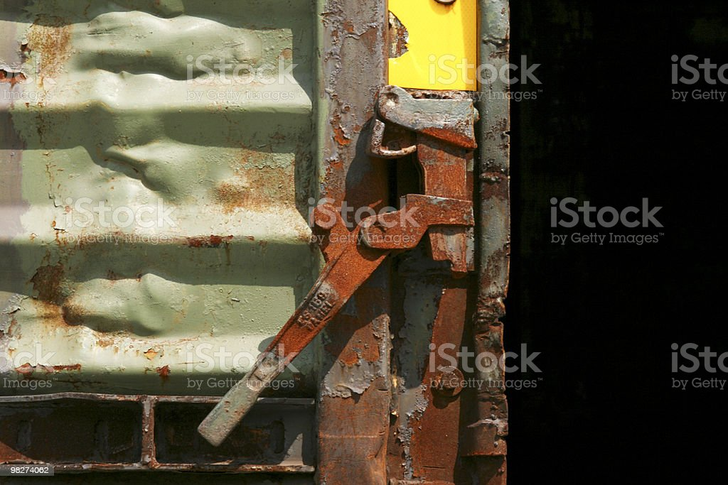 train door royalty-free stock photo