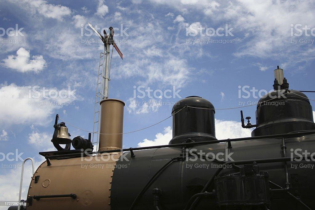 Train Engine Detail stock photo