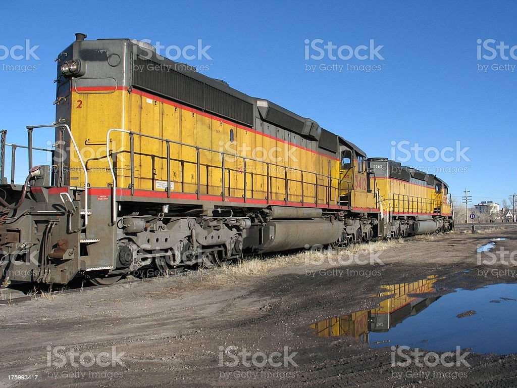 Train Engine royalty-free stock photo