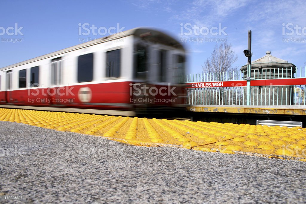 Train In Motion III (series) royalty-free stock photo