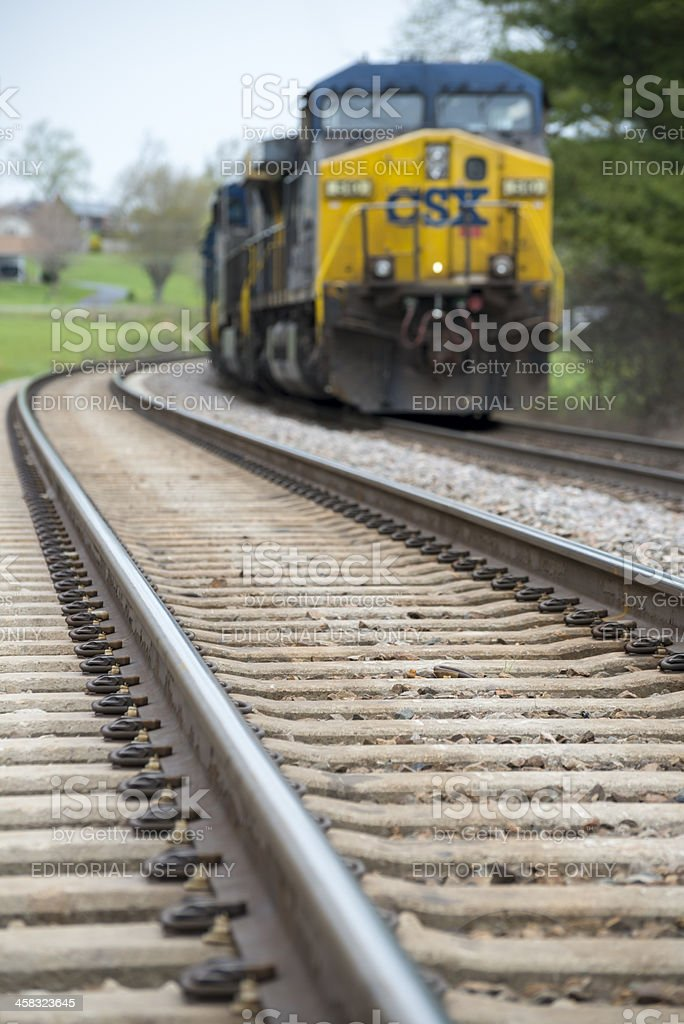 Csx Train In Rural Tennessee Stock Photo More Pictures Of Business