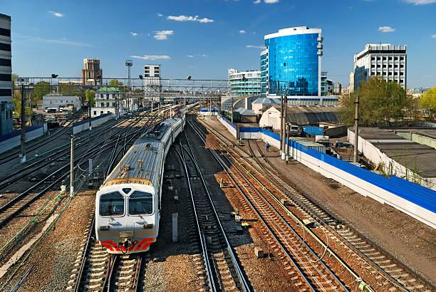 Zug am Bahnhof – Foto