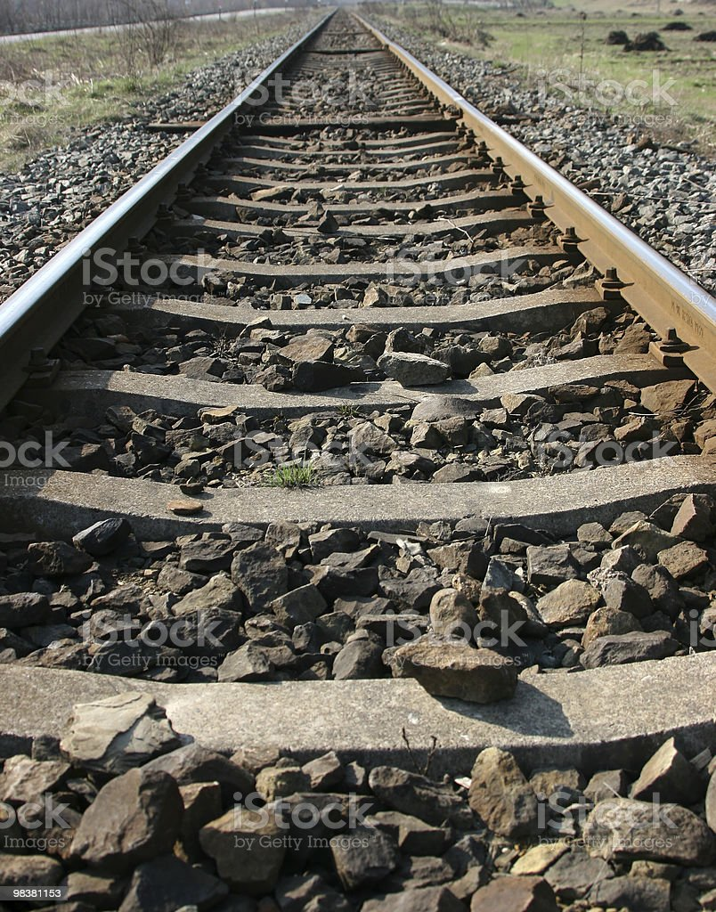 Train Line royalty-free stock photo