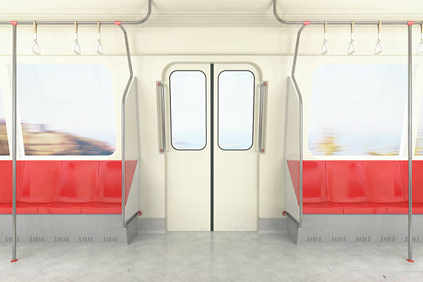 train / metro / bus on the move - järnvägsvagn tåg bildbanksfoton och bilder