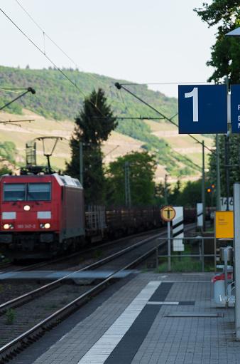 Trein Station Passeren Stockfoto en meer beelden van Betreden
