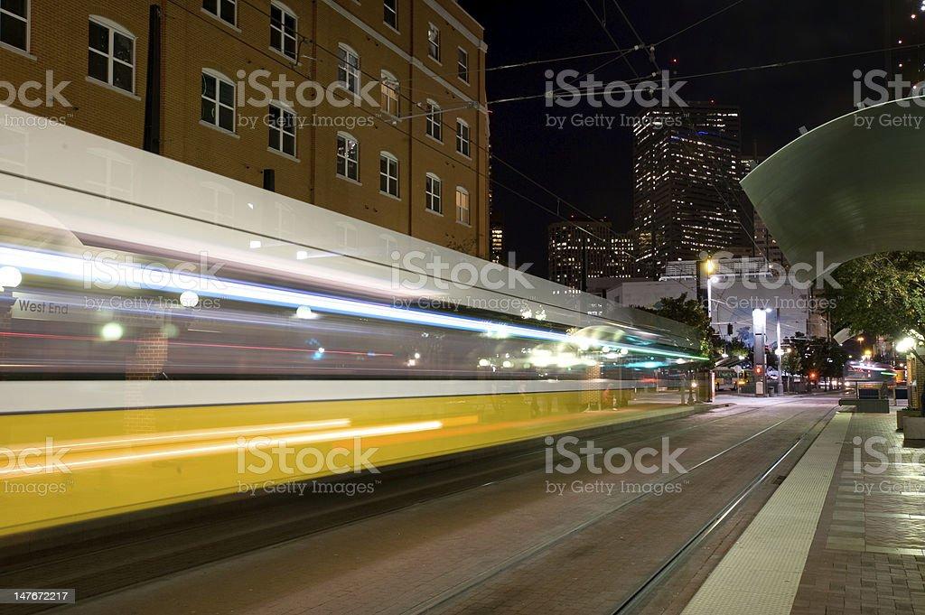 DART train stock photo
