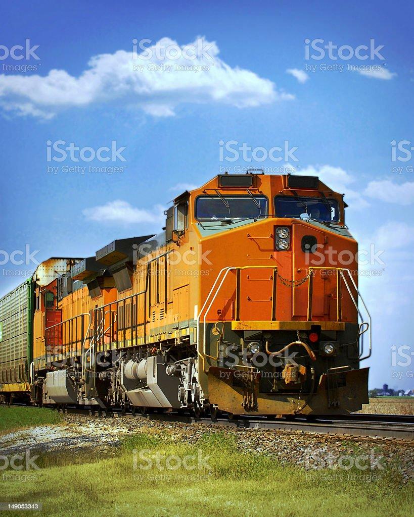 train royalty-free stock photo